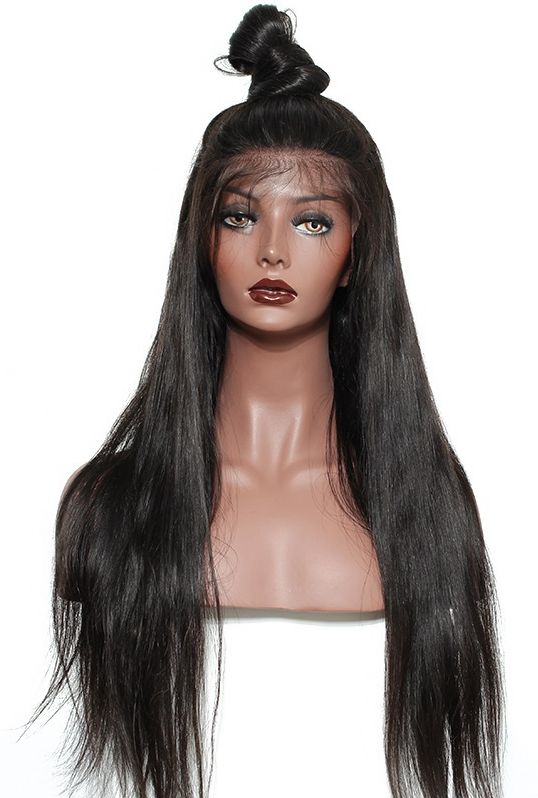 Golden Dark Blonde Human Hair Extensionsweaveslace Front Wigs