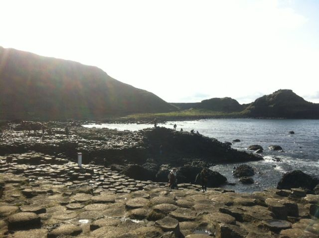 Giant's causeway! Incredible view.. You can book a tour at Isaacs hostel.