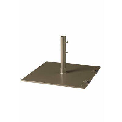 Tropitone Steel Free Standing Umbrella Base Finish: Moab