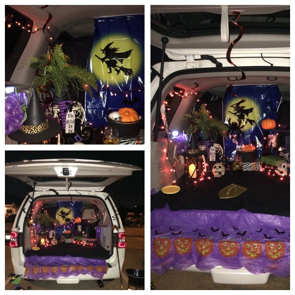 Witch Trunk Or Treat Halloween Pinterest Trunk Or Treat