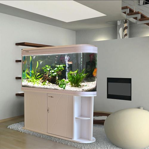 minjiang screen medium fish tank aquarium closed u shaped