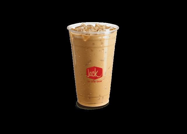 Jack in The Box Iced Coffee Mocha  flavour