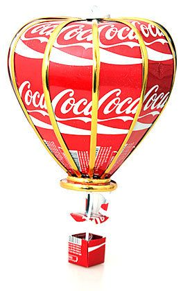 + other can types Hot air balloon Recycled Tin Can Model Tiger beer