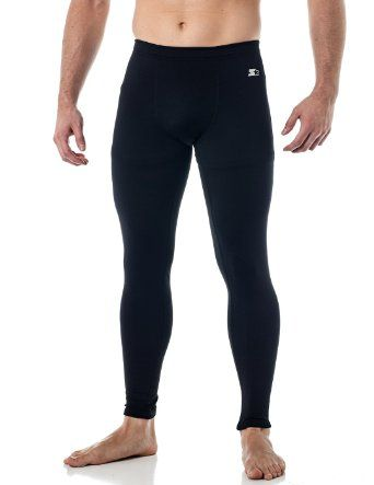 71cced396d6 Amazon.com  Starter Mens Compression Base Layer Pants  Sports   Outdoors