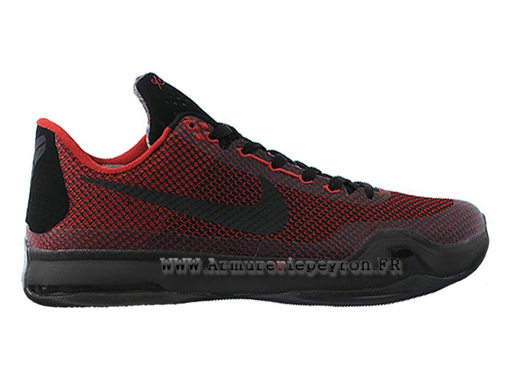 Nike Kobe 10 Officiel baskets Chaussures Pour Homme Rouge