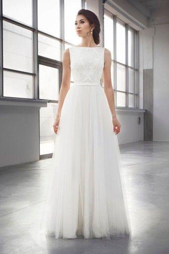 Suknia Slubna Fulara Zywczyk Wyprzedaz 50 6893303215 Oficjalne Archiwum Allegro Wedding Dresses Sleeveless Wedding Dress One Shoulder Wedding Dress