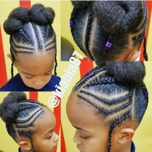 Natural Hairstyles For Black Girls Kids Braided Hairstyles