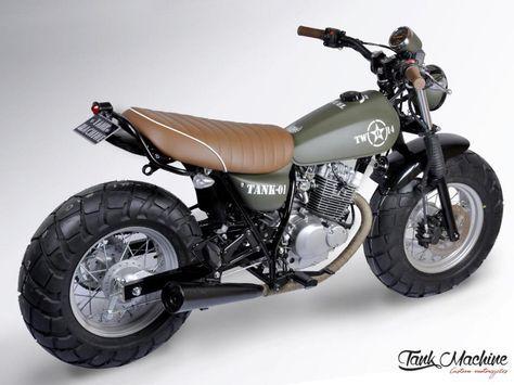 Vanvan By Mfc Paris Van Van Army Mfc Design Préparation Motos
