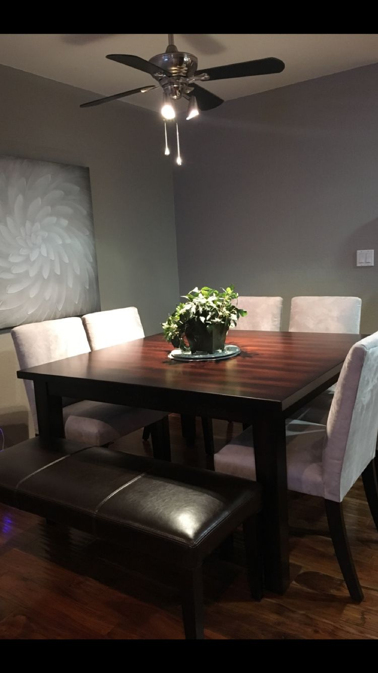 Best Love My New Square Dining Table With Platinum Chairs And 400 x 300