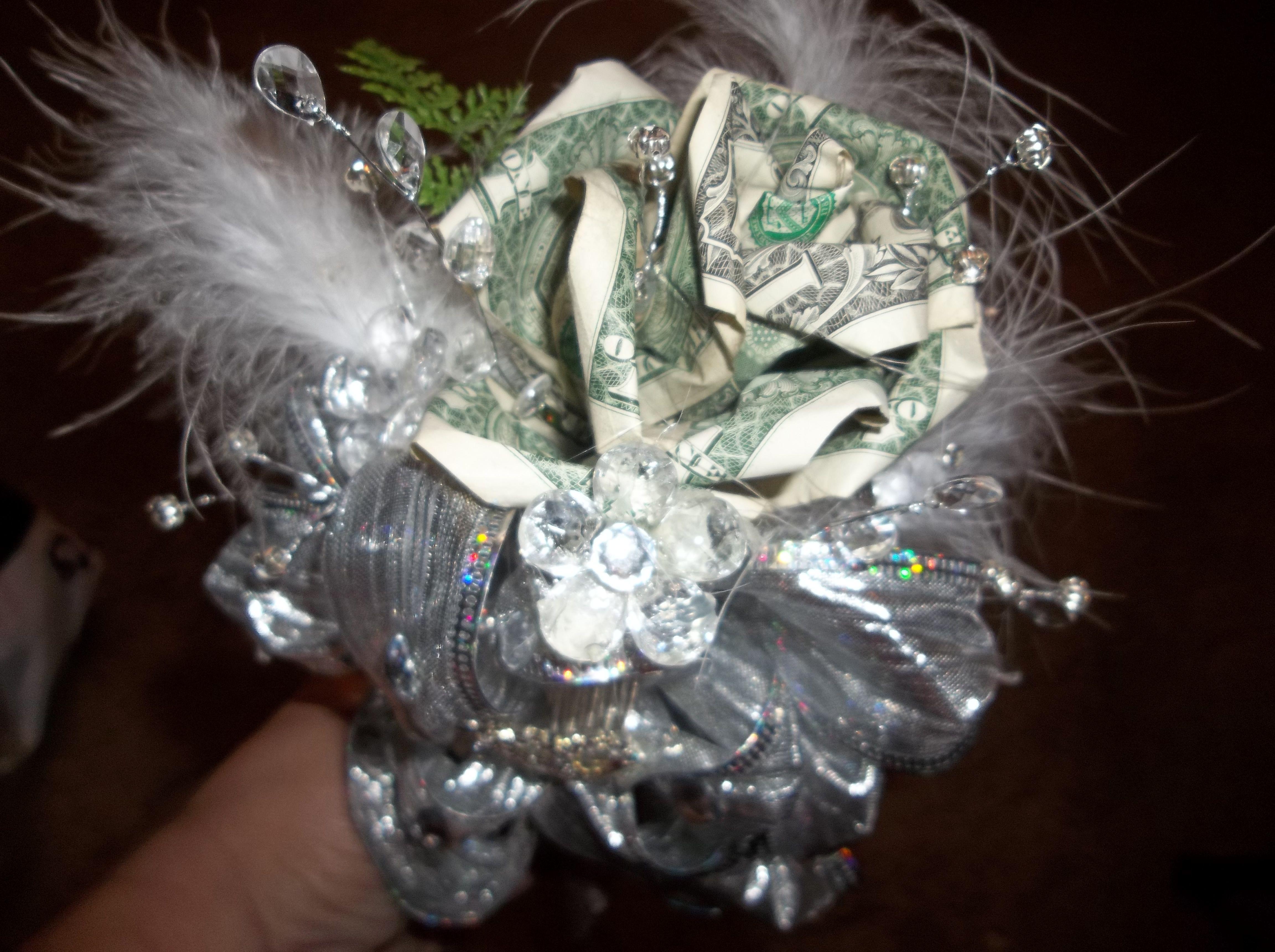 Money rose corsage | My Creations | Money bouquet, Money ... - photo#40