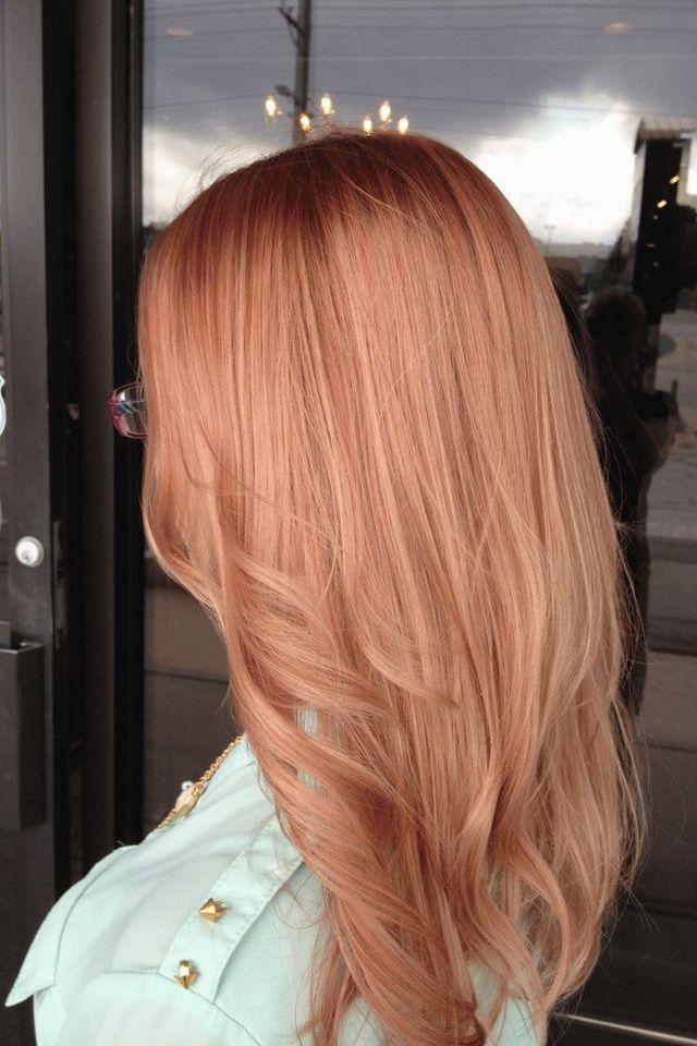 Les 25 meilleures id es de la cat gorie blond roux sur pinterest roux v nitien couleur des - Blond venitien fonce ...
