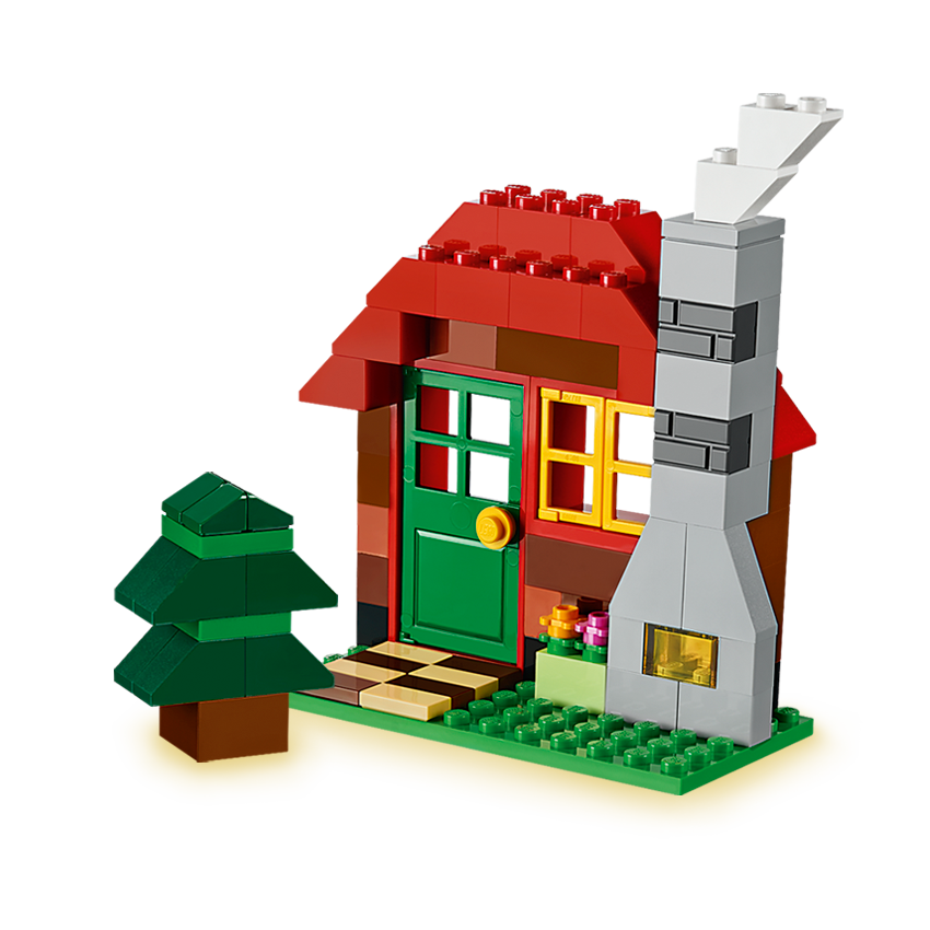 LEGO Custom Cabin Building Instructions ONLY