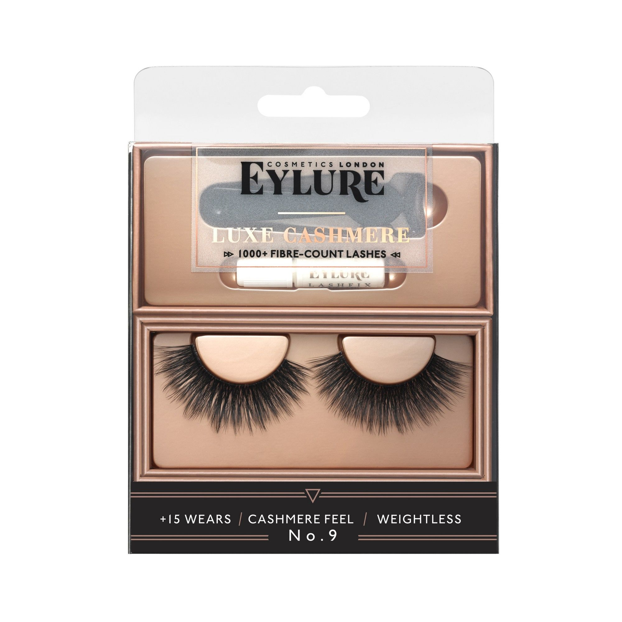 Eylure False Eyelashes Luxe Cashmere No. 9 1pr False