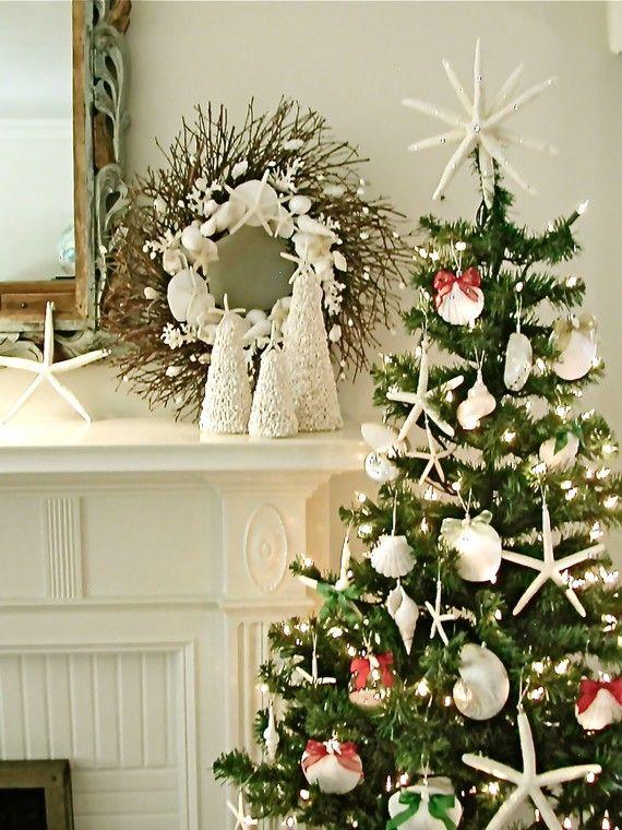 by the sea christmas Christmas Pinterest Coastal christmas - coastal christmas decorations