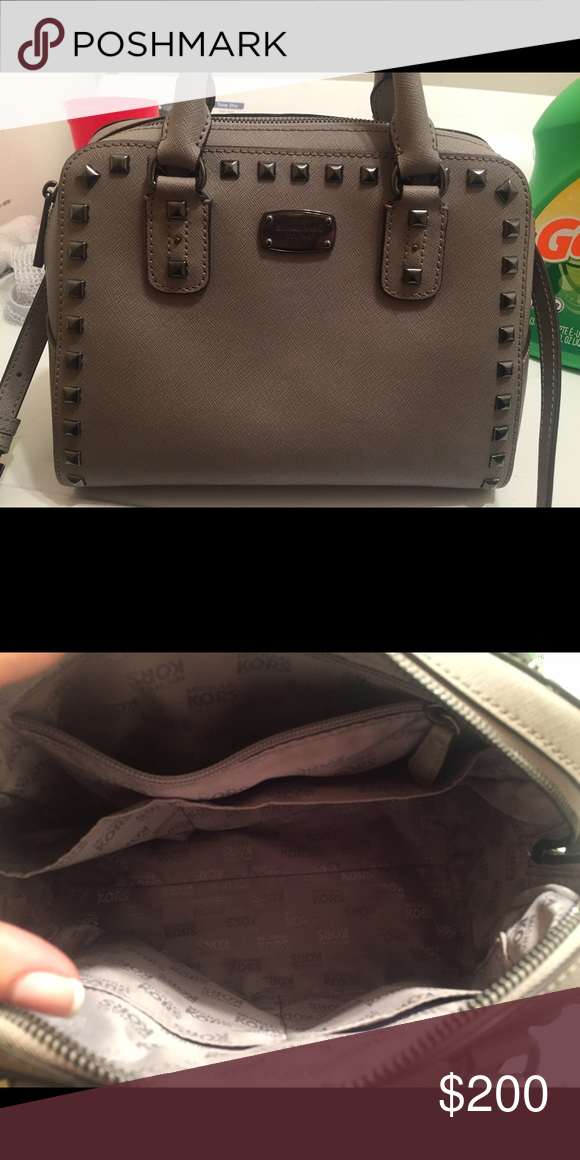 183fc267ac7 Gently used MK bag Like new grey michael kids bag. matching wallet  available but additional. smoke free home Michael Kors Bags