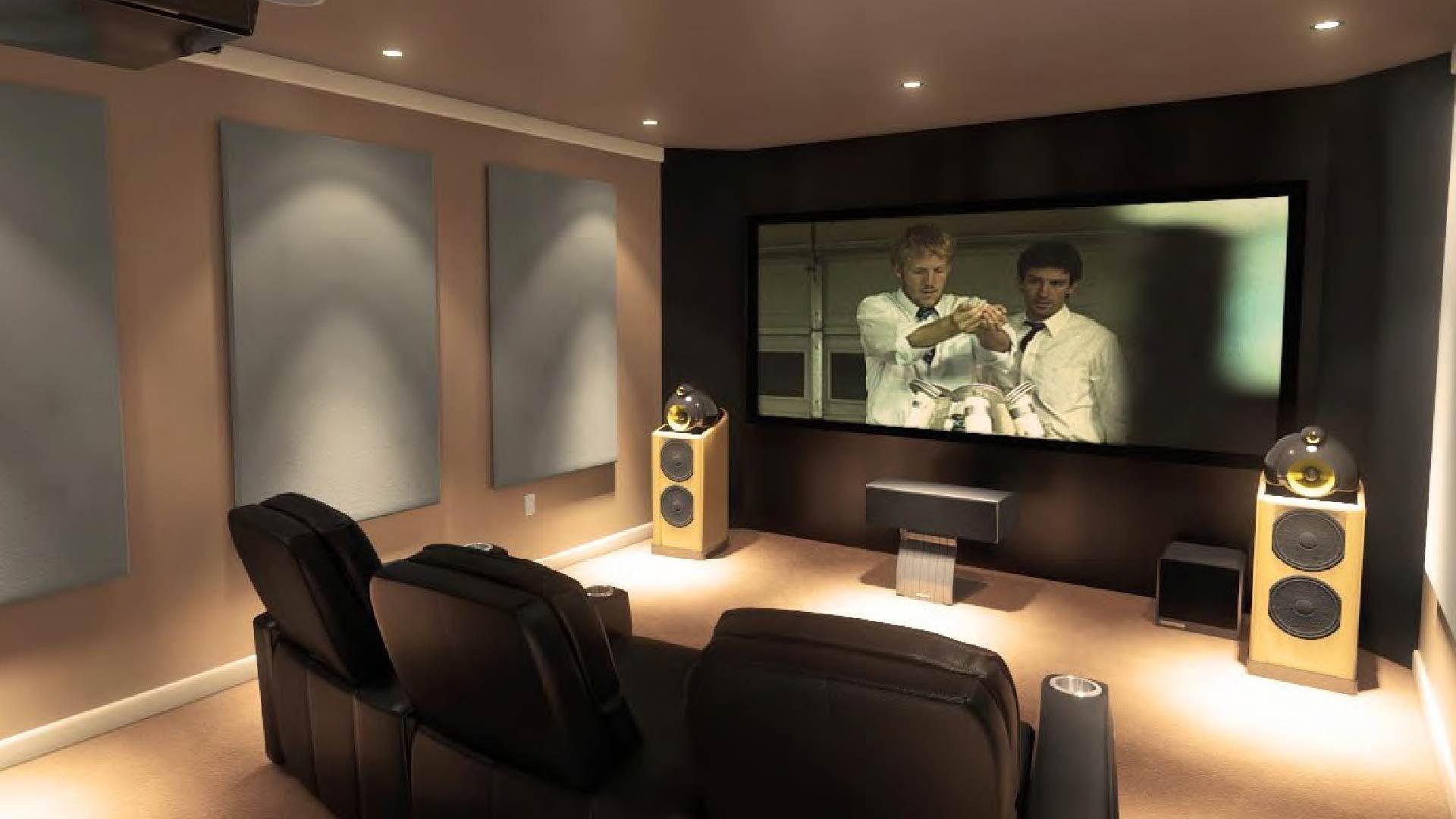 Foto cine casa 47 sala de cine cine en casa sala de cine en casa y teatro en casa - Filodiffusione casa ...