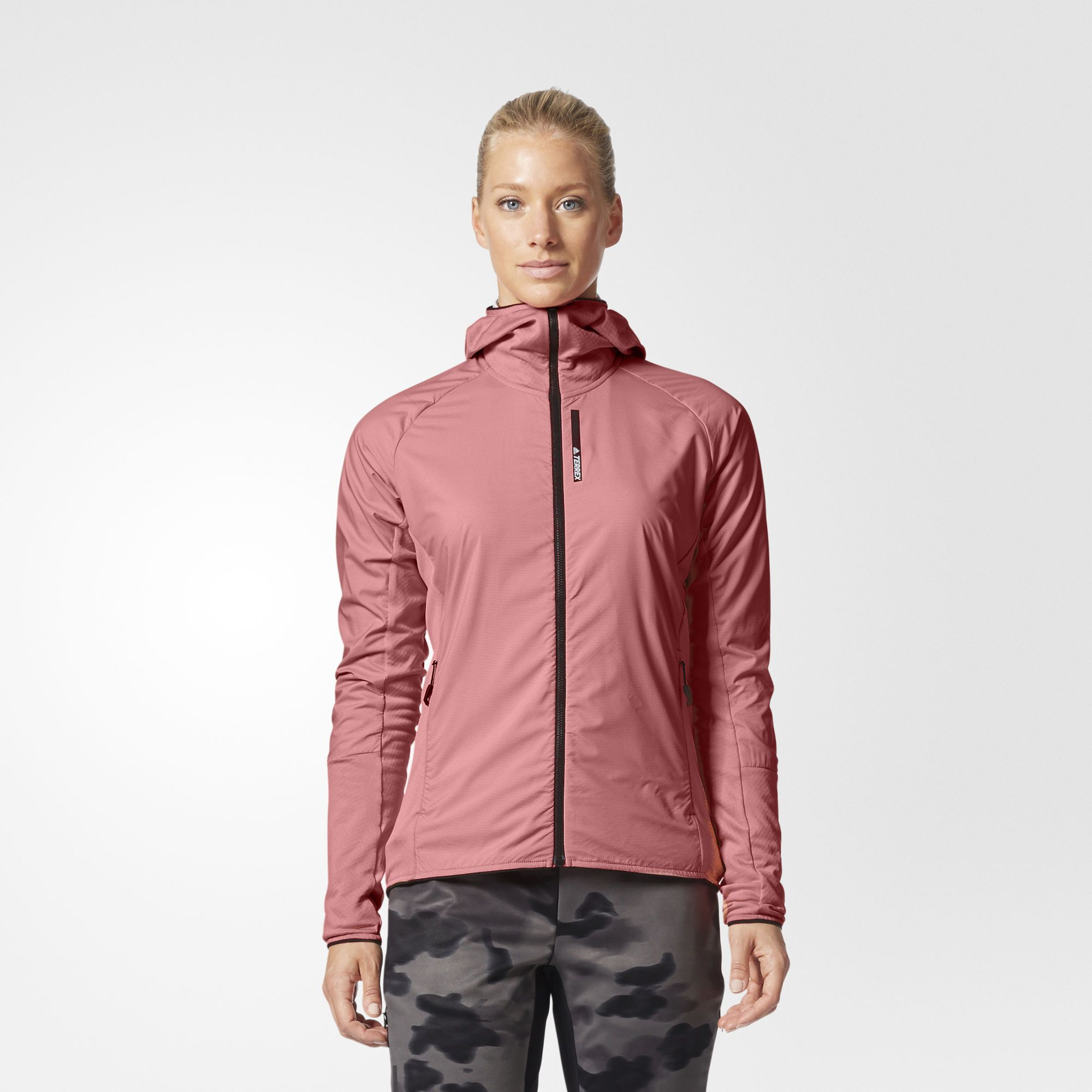 This Fleece A Design For Fast Jacket Women's Features Paced Hybrid qv7xwrqfa