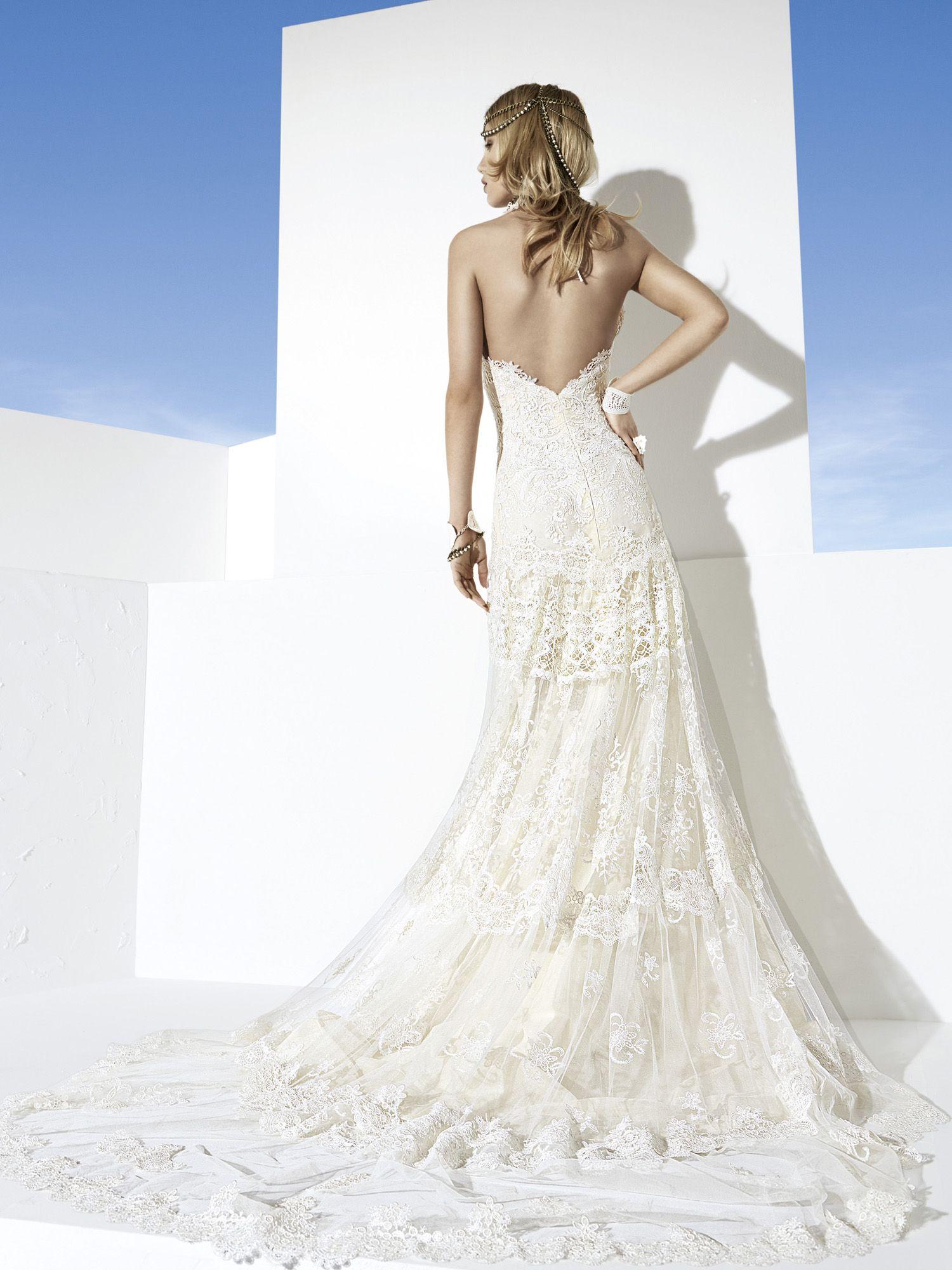 Martinica yolancris boho girl back view weddings the dress