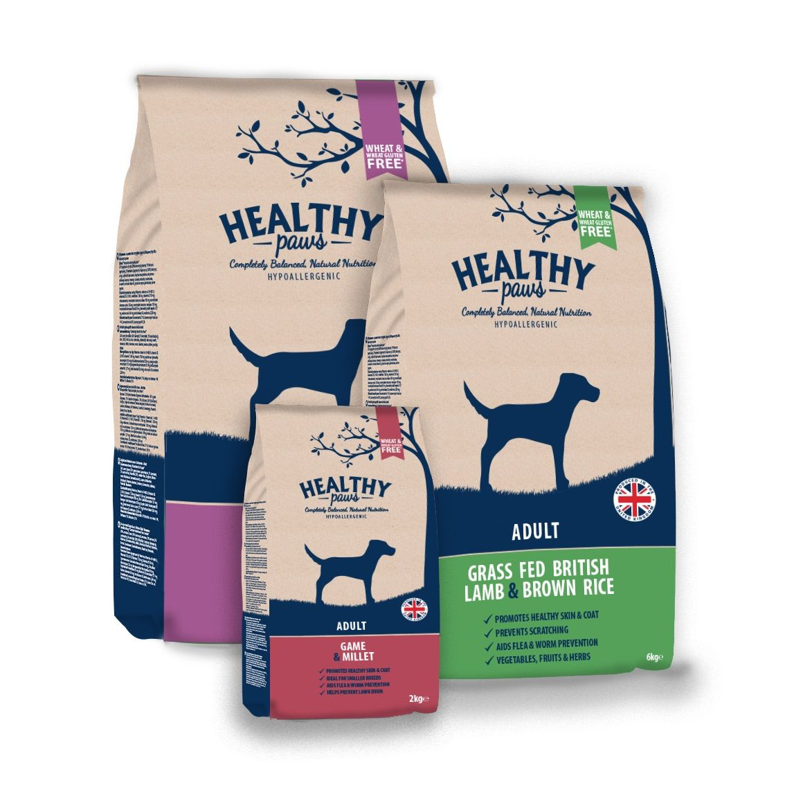 Healthy Paws Adult Bags Pets Natural World Dog Food Recipes