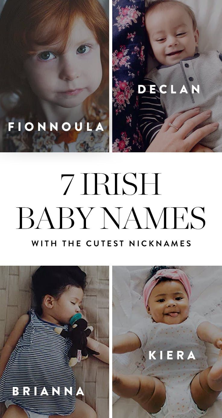 7 Irish Baby Names with the Cutest Nicknames | Girl Names