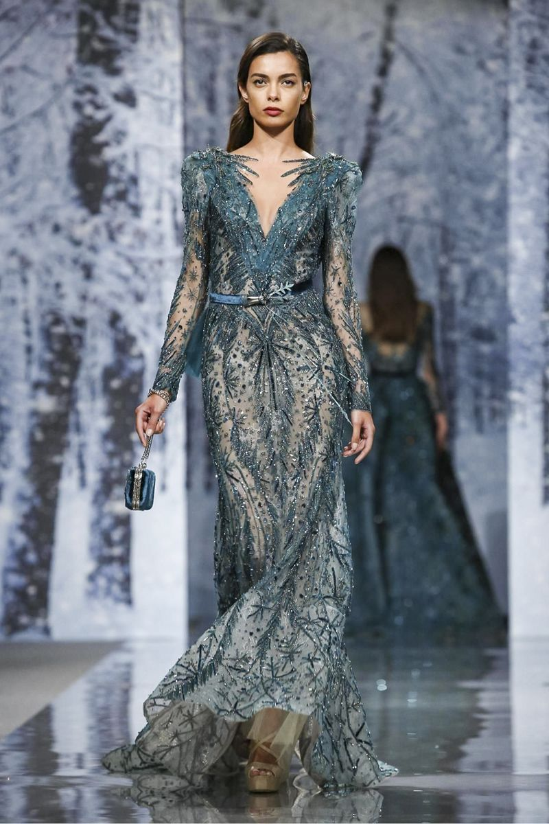 Ziad nakad couture fall winter collection in paris ziad nakad