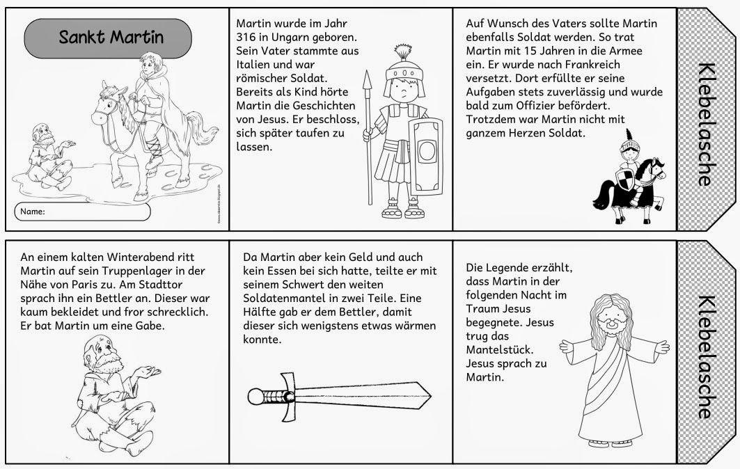 "Ideenreise: Leporello ""Sankt Martin"""