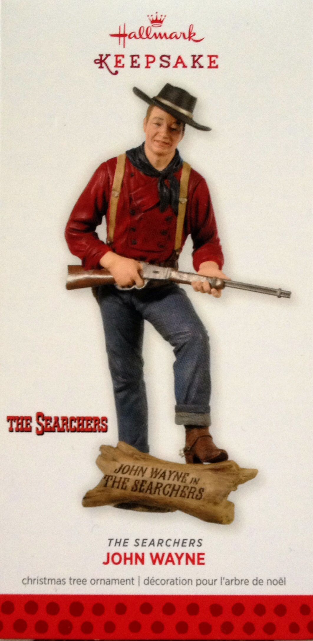 Hallmark ornament. The Searchers. John Wayne. 2013 | ornaments i ...