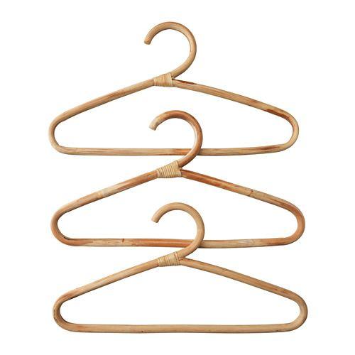 Kleiderbügel Ikea hjärtelig kleiderbügel rattan hanger and rattan