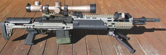 MK14 Mod 0 type SEI | Snipers Dream | Pinterest | Taps