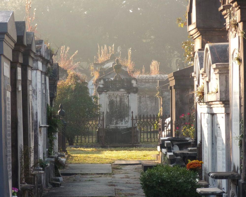 Risultati immagini per lafayette cemetery autumn