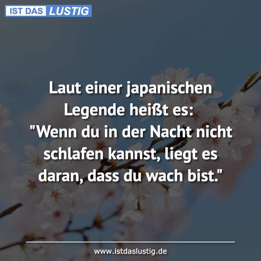 Pin Von U Vorbeck Auf Schlaf Japanische Legenden Schlaf Spruche Lustige Spruche