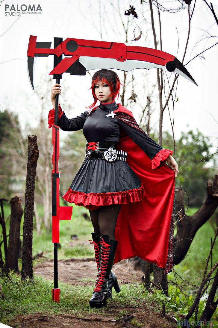 Ruby Rose From Rwby Cosplay Pinterest Cosplay Rwby And Rwby