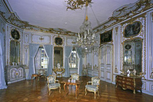 zweites vorzimmer des appartements carl eugens im residenzschloss ludwigsburg interior. Black Bedroom Furniture Sets. Home Design Ideas