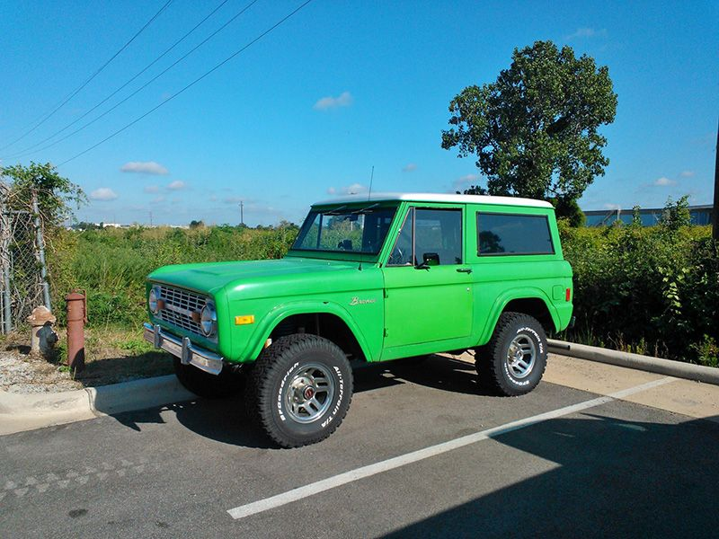 Baby Blue 1972 Bronco 302 Lifted Ford Bronco Classic Cars