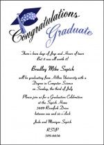 Graduation Party Invitations For Your College Graduate