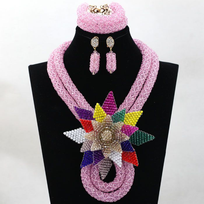 New with Brooches African Nigerian Indian beads Traditional Bridal ...