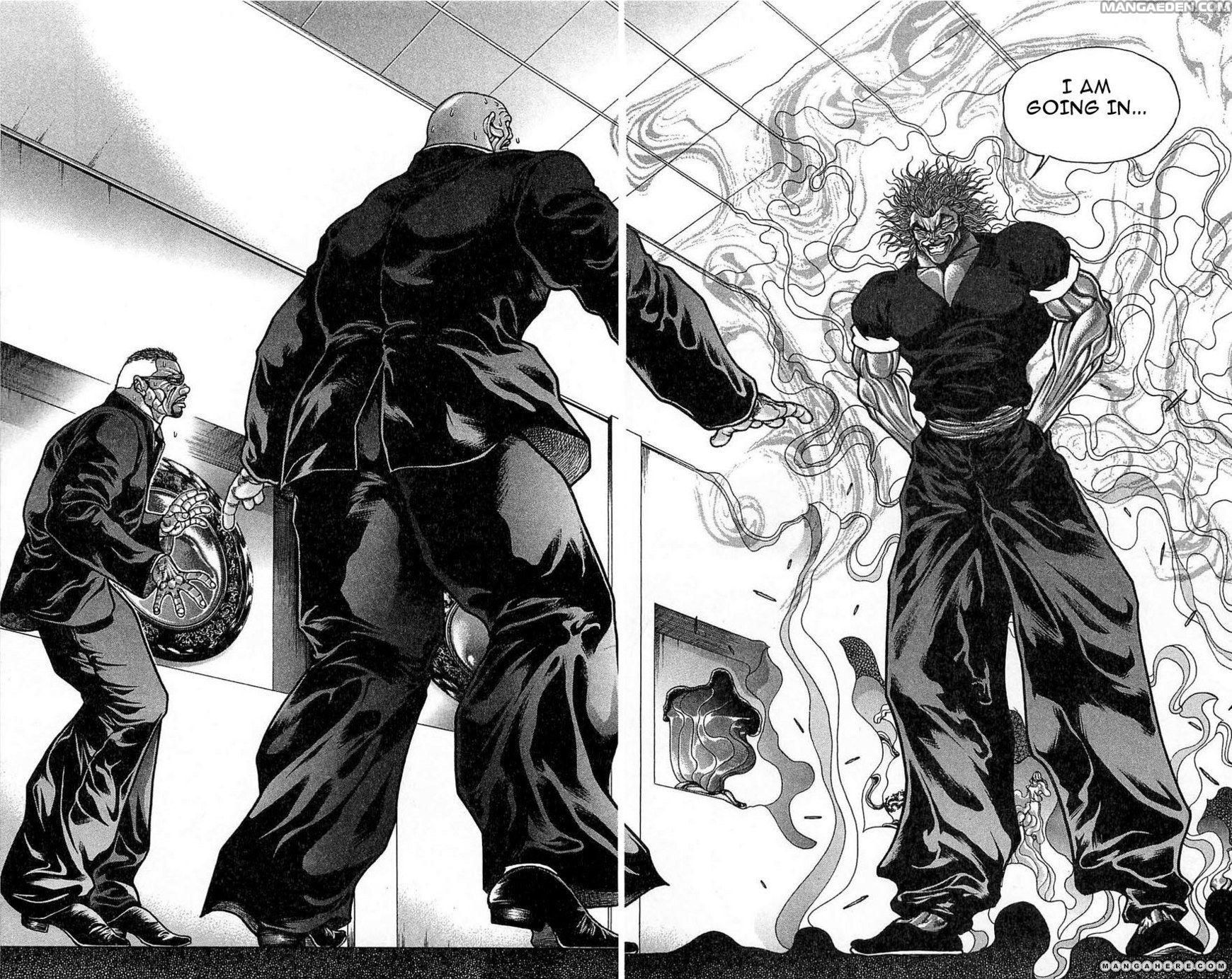 Baki New grappler mangá