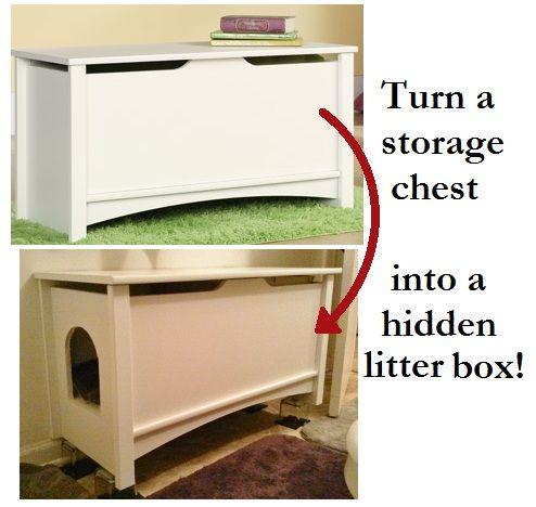 hidden litter box cats stuff funny comics diy pinterest haustiere m bel und wohnen. Black Bedroom Furniture Sets. Home Design Ideas
