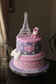 Paris Birthday Cake Google Search Jaidas Paris Tea Party - Birthday cake paris