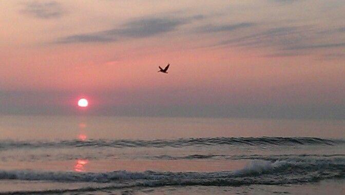 OBX sunrise October 5, 2013
