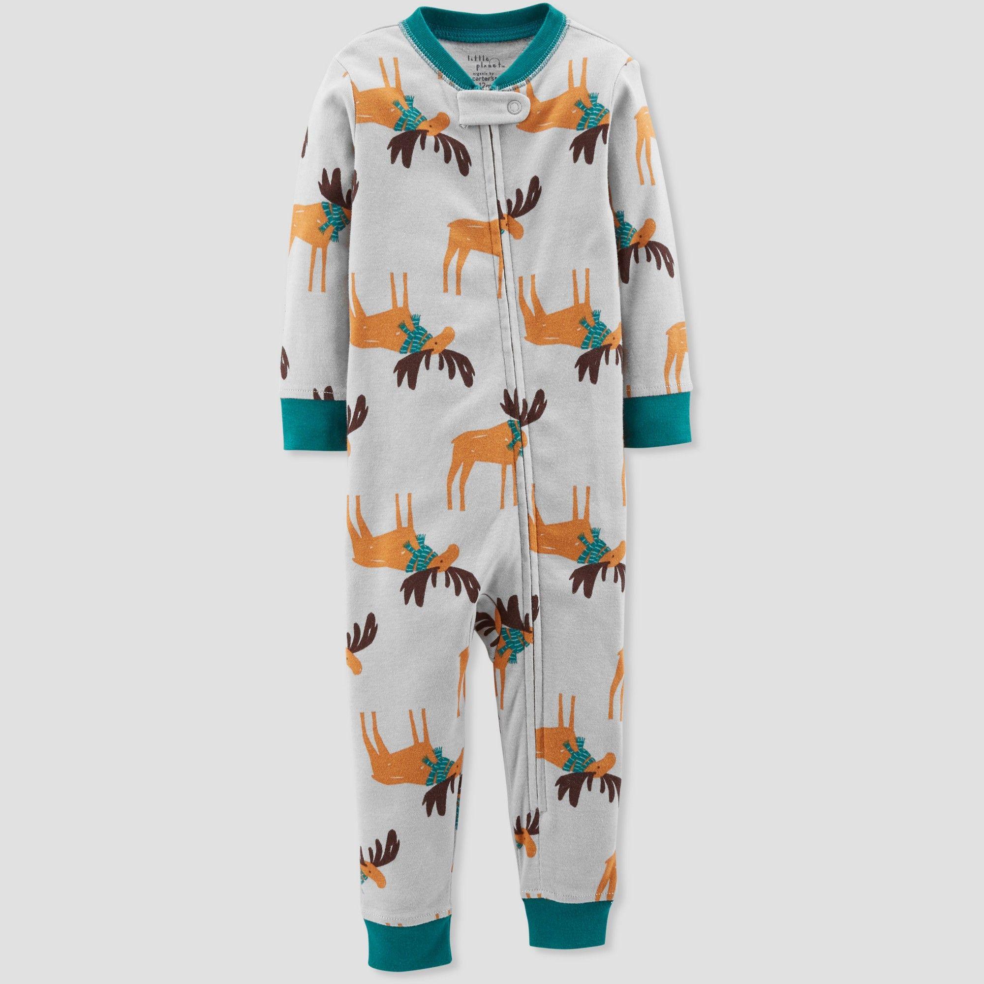 NWT Carter/'s Baby Boy Girl Christmas Fleece Footed Sleeper Pajamas 5T