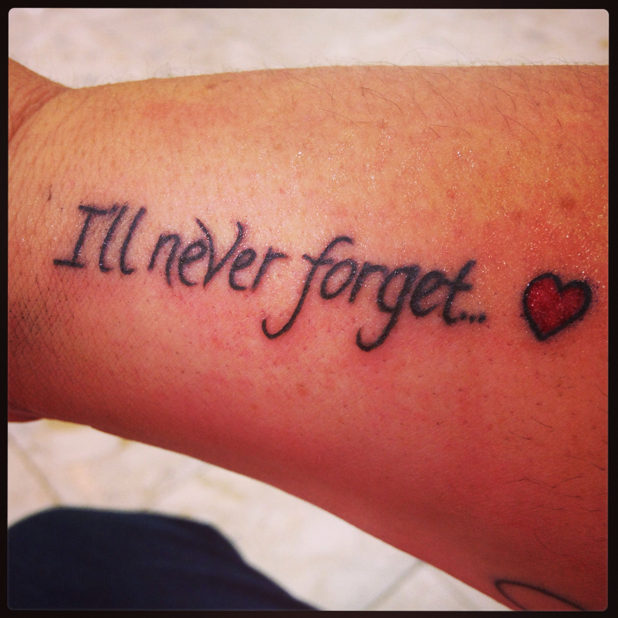 This Is My #tattoo In Memory Of My Nan, Who Passed From
