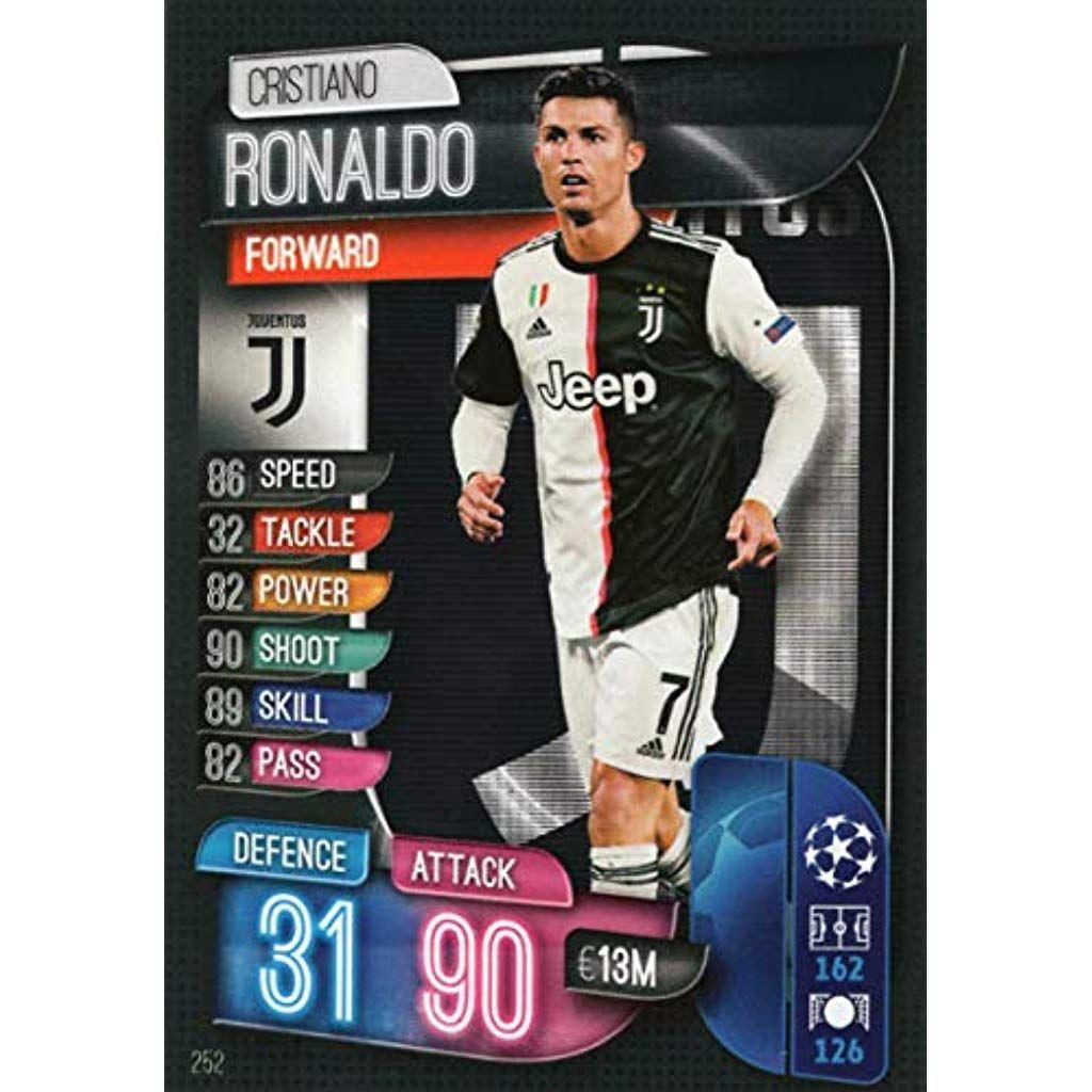 Match Attax 19 20 Cristiano Ronaldo Base Trading Card Juventus Novelty Gag Toys Magic Supplies Magic Kits Accessorie Match Attax Fifa 20 Cristiano Ronaldo