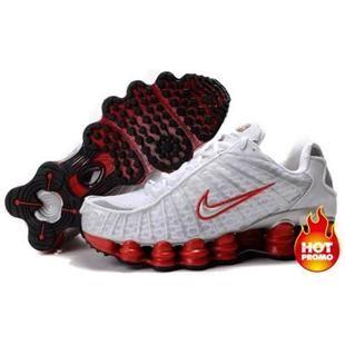 UK sale Men Nike Shox Tl1 Team Red Shoes