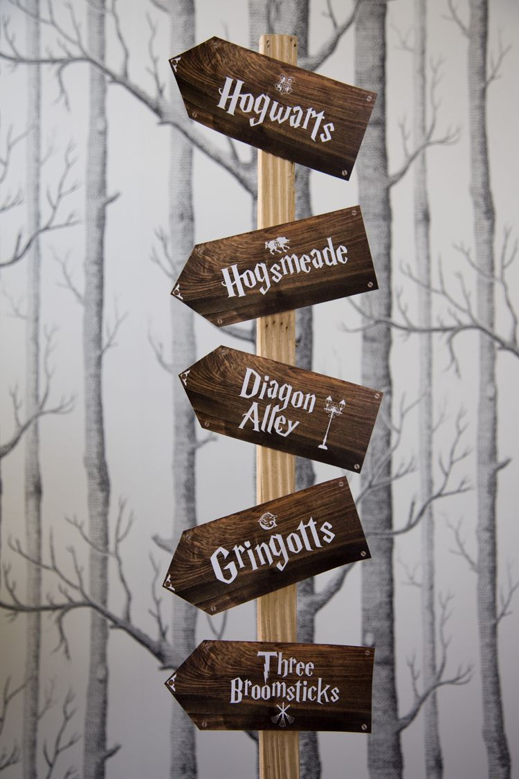 This is an image of Handy Hogwarts Sign Printable