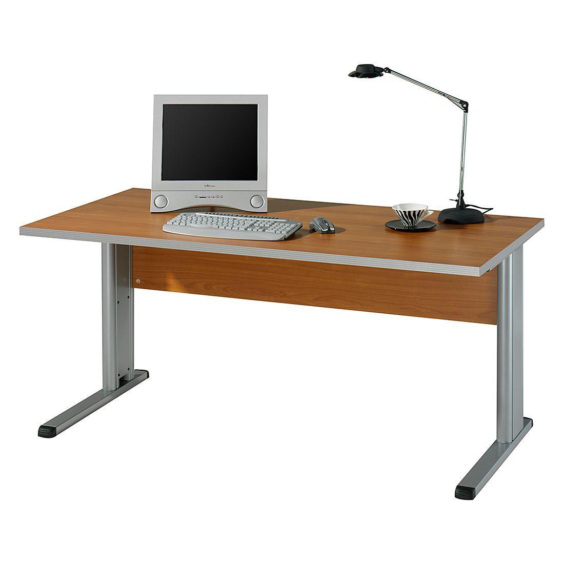 Schreibtisch Kirk VI - Kirschbaum Dekor - Tischplatte: 120 x 80 cm ...