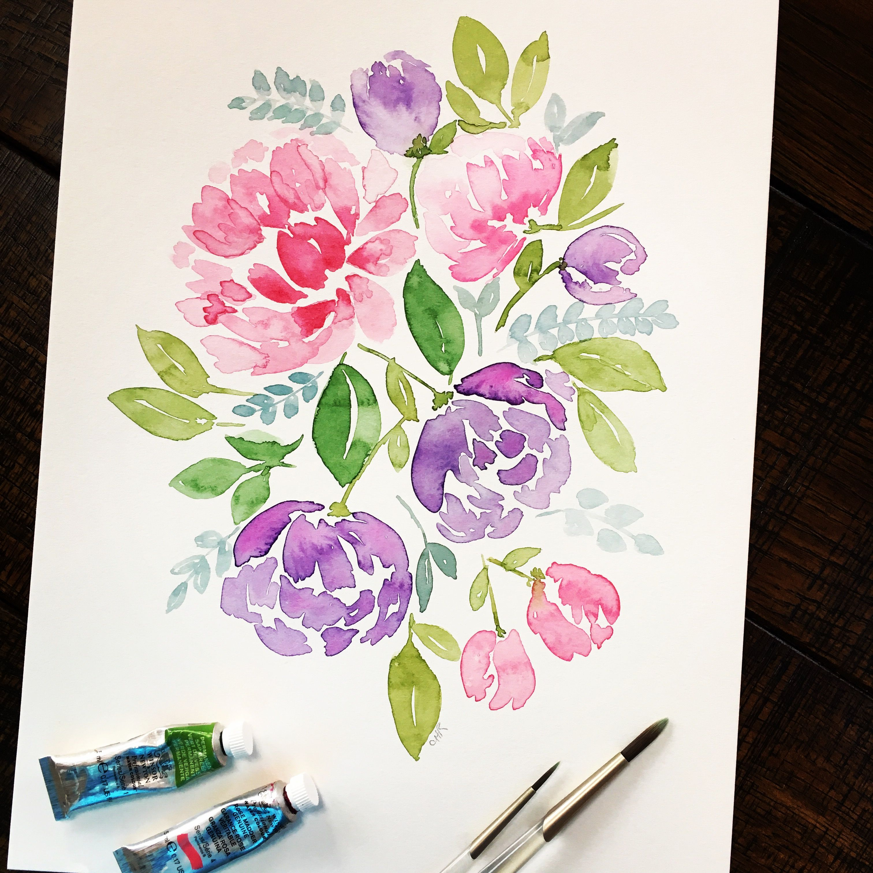 Pin By Sweet Seasons Art On My Watercolors Watercolor Lettering