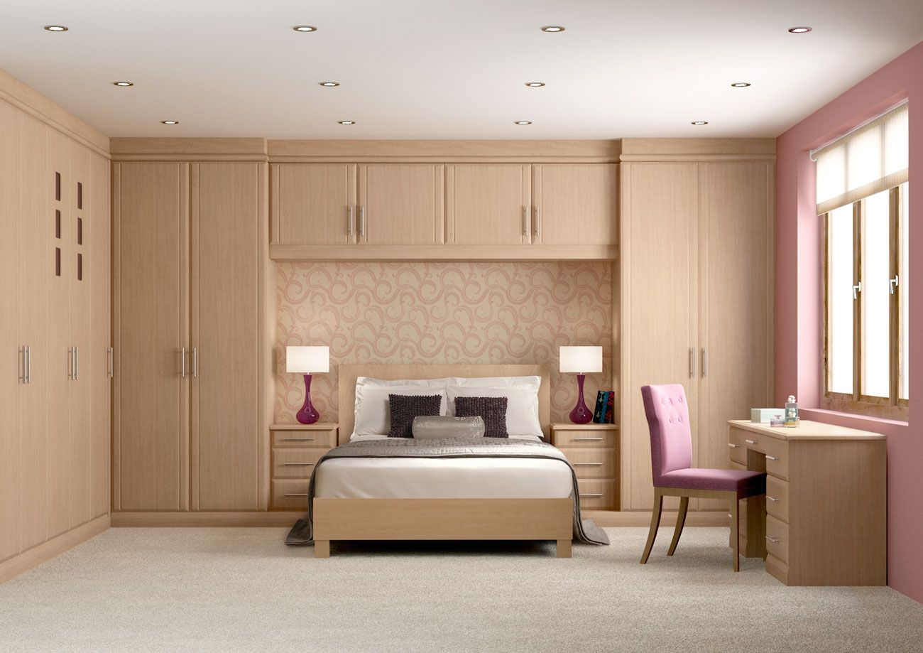 Attractive Fitted Wardrobes For Small Room Designs