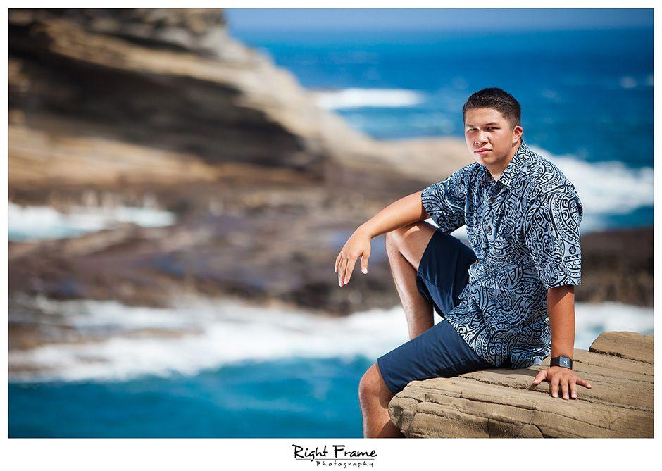 Oahu Senior Portrait Photographers Right Frame Photography Senior Portraits Hawaii Grad Photoshoot Framing Photography