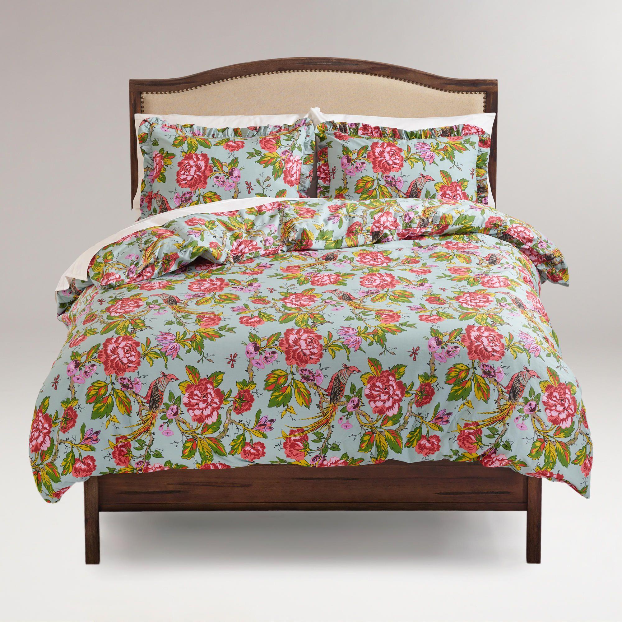 English Garden Duvet And Pillow Shams Set World Market Future